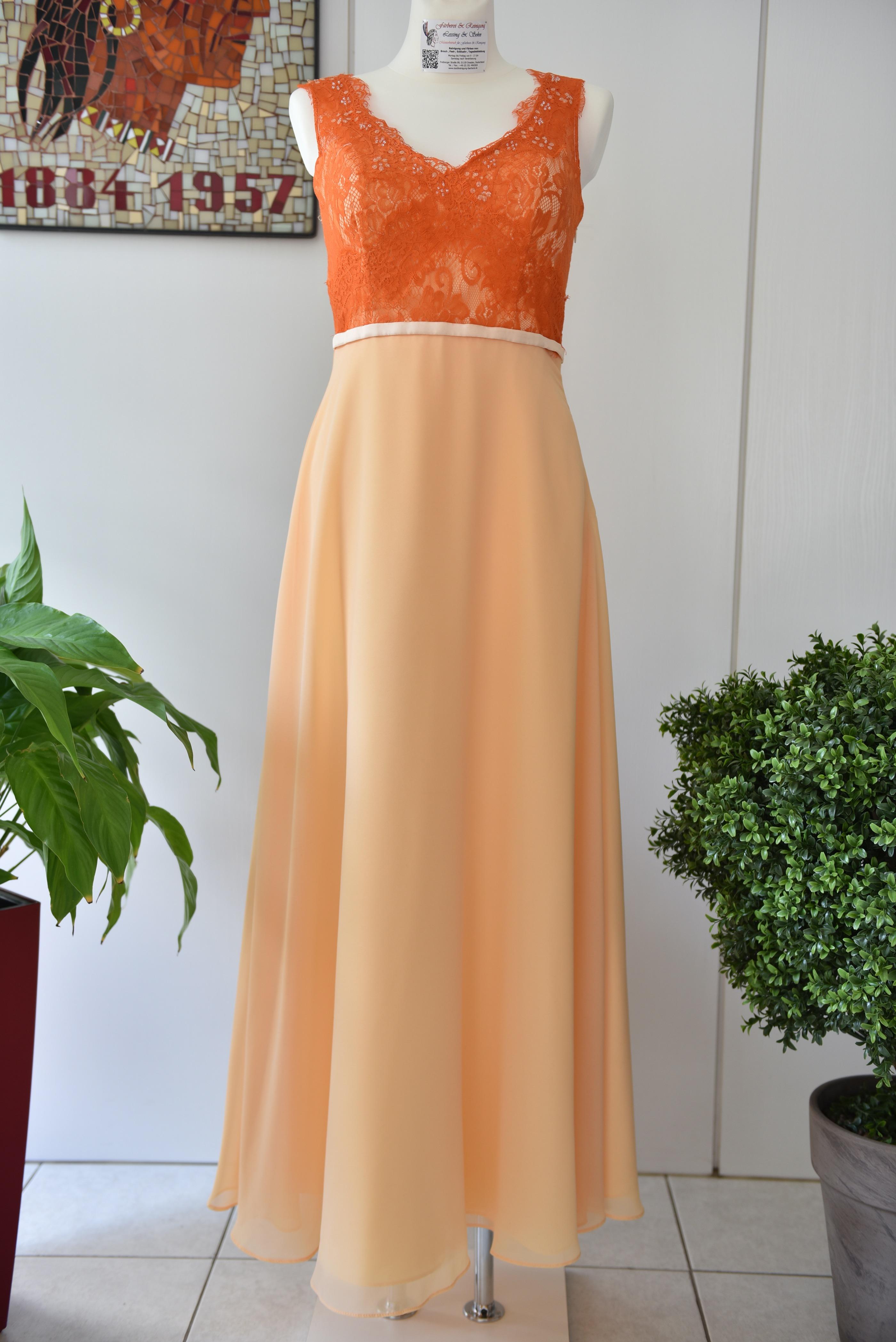 Brautkleid Reinigung Kosten | Brautkleid Farben Orange Farberei Und Reinigung Lessing